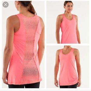 lululemon athletica Tops - Lululemon Tie and Fly Tank in Pink